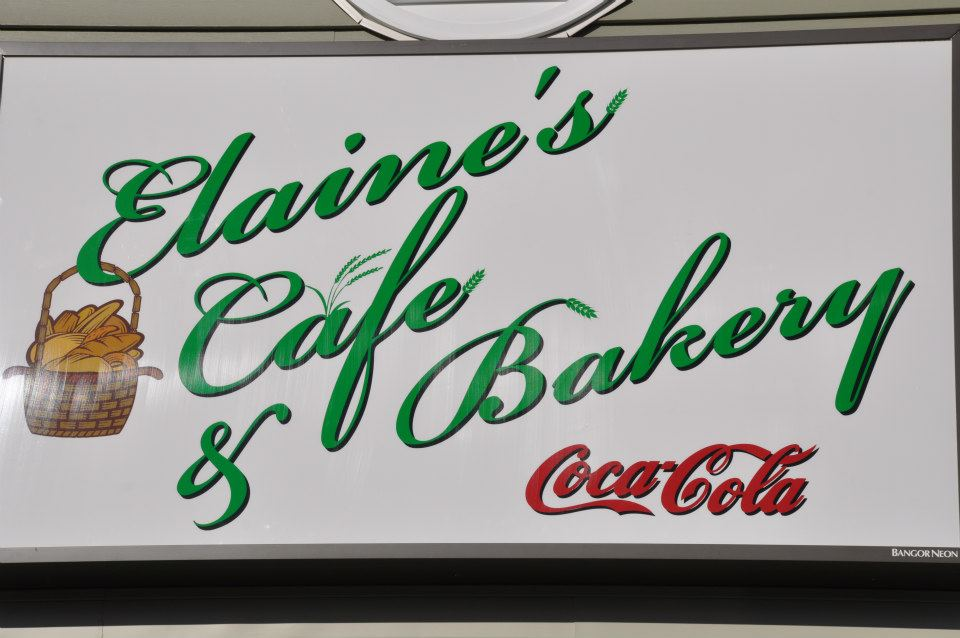 Welcome To Elaine's Basket Cafe and Bakery in Milo, Maine